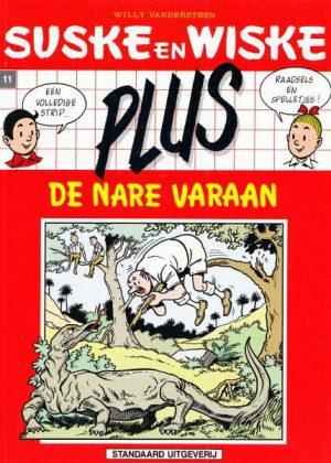Suske en Wiske plus 11(2e rode reeks) - de nare varaan