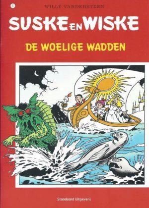 Suske en Wiske - De woelige wadden (pocket)