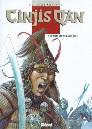 Cinjis Qan - 3 De woede van de blauwe wolf (HC)