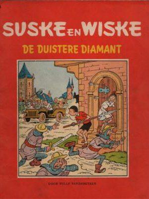 Suske en Wiske 23 - De duistere diamant (1e druk 1958)