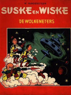 Suske en Wiske 41 - De wolkeneters (1e druk 1960)
