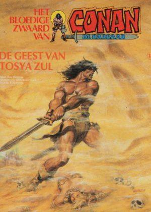 Conan 18 - De geest van Tosya Zul