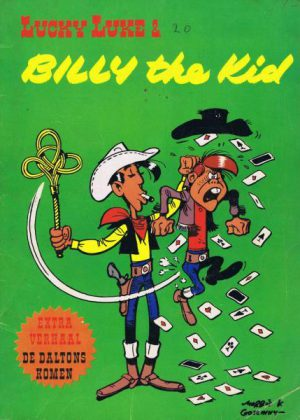 Lucky Luke - Billy the Kid (Groen) (Tweedehands)