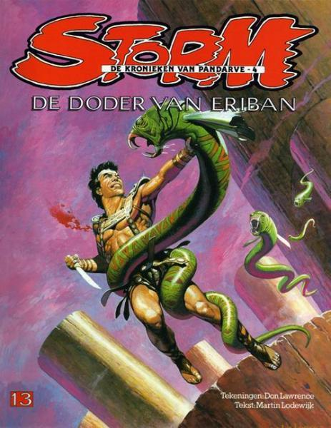 Storm 13 - De doder van Eriban