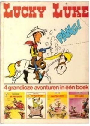 Lucky Luke - 4 grandioze verhalen in één boek (HC) (Tweedehands)