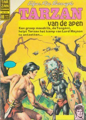Tarzan - Een groep mandrils, de Tongani, helpt Tarzan het kamp van lord Mayson te ontzett