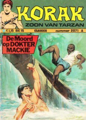 Korak De Zoon Van Tarzan - De Moord Op Dokter Mackie