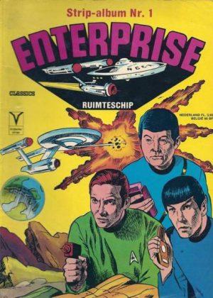Strip Album 1 - Enterprice Ruimteschip