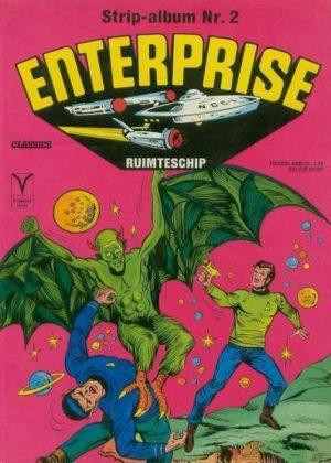 Strip Album 2 - Enterprise Ruimteschip