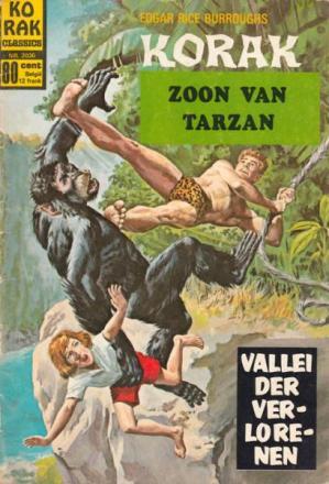 Korak De Zoon Van Tarzan - Vallei Der Verlorenen