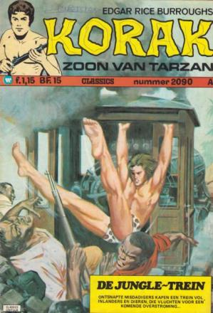 Korak De Zoon Van Tarzan - De Jungle-Trein