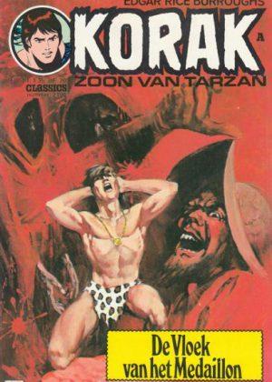 Korak de zoon van Tarzan - De vloek van het medaillon