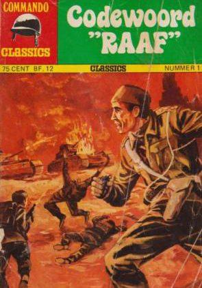 "Commando Classics - Codewoord ""Raaf"""