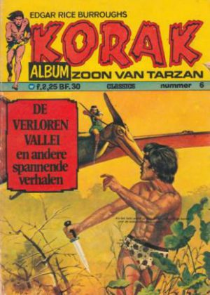 Korak De Zoon Van Tarzan - De Verloren Vallei