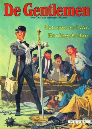 De Gentlemen 4 - Het zwaard van Koning Arthur