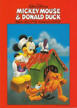 Mickey Mouse En Donald Duck - Een Echte Waakhond