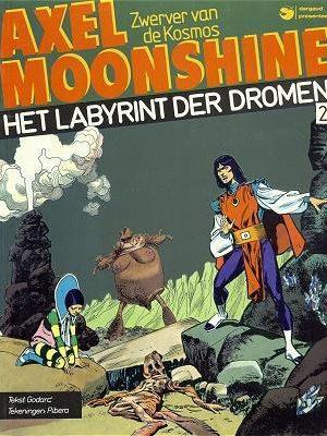 Axel Moonshine 2 - Het labyrint der dromen (Dargaud)