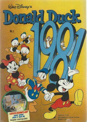 Donald Duck Stripbundel 1981 (Tweedehands)