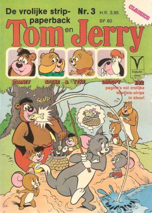 Tom en Jerry - De vrolijke strippaperback Nr.3