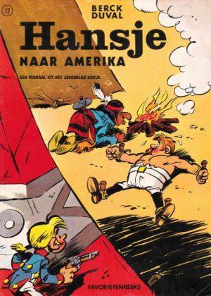 Hansje Nr.12 - Naar Amerika (1e druk 1971)