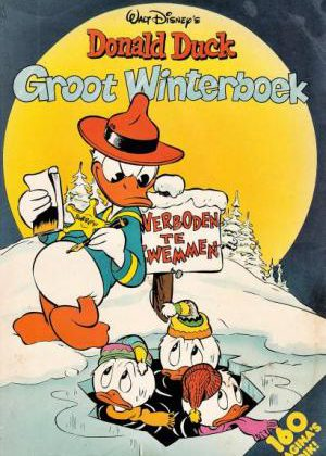 Donald Duck Groot winterboek 1985 (160 pagina's dik)
