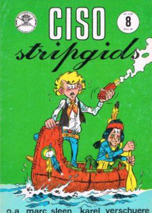 Ciso stripgids 8 - o.a. Marc Sleen, Karel Verschuere
