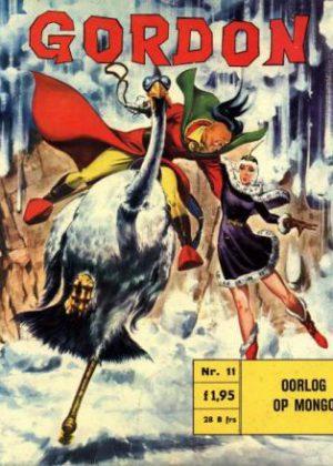 Flash Gordon 11 - Oorlog op mongo