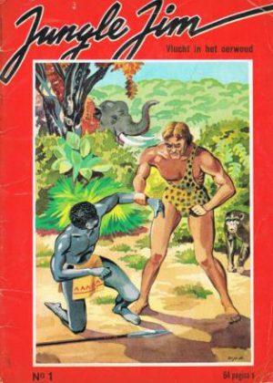 Jungle Jim 1 - Vlucht in het oerwoud