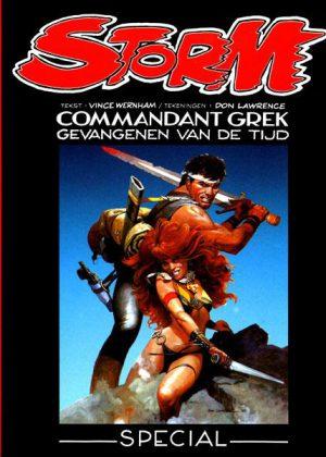Storm - Commandant Grek gevangenen van de tijd (Nieuw)