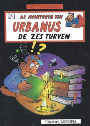De avonturen van Urbanus - De zes turven (Nieuw)