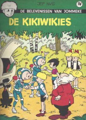 Jommeke 74 - De Kikiwikies
