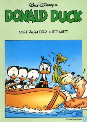 Donald Duck- Vist achter het net