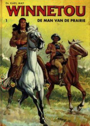 Winnetou 1 - De man va de prairie (hardcover)