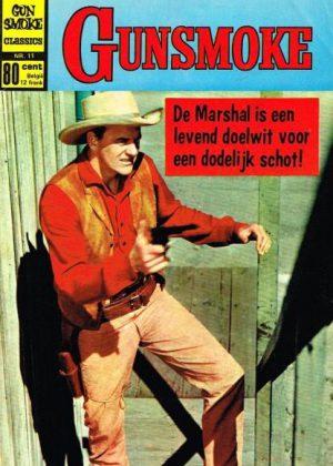 Gunsmoke classics - De marshall is een levend doelwit