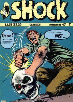 Shock Nr.47 - De griezel-ogen in het grijnzende doodshoofd