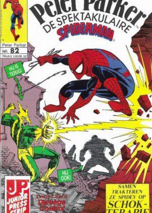 Peter Parker de Spektakulaire Spiderman nr.82 - Geschokt