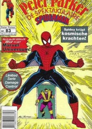 Peter Parker de Spektakulaire Spiderman nr.83 - De lijmpot en de kosmische kracht
