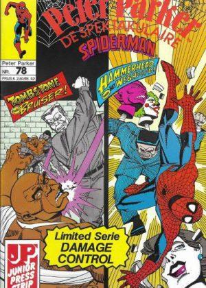 Peter Parker de Spektakulaire Spiderman nr.78 - Waarom?