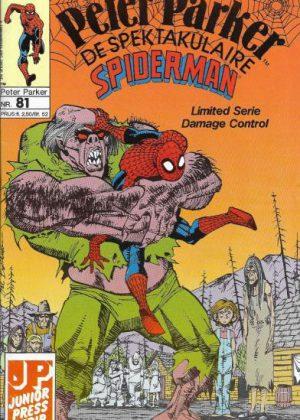 Peter Parker de Spektakulaire Spiderman nr.81 - De speurtocht naar Robbie Robertson