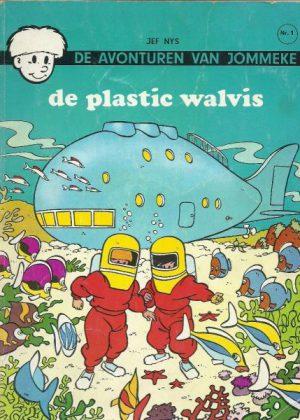 De avonturen van Jommeke 1 - De plastic Walvis