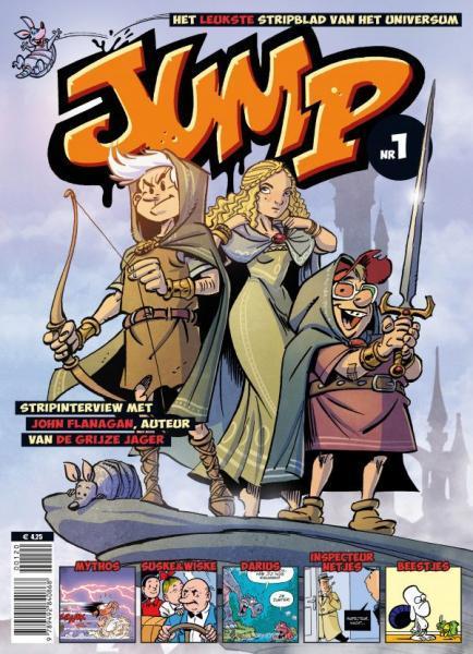 Jump - het leukste stripblad van het universum (Deel 1)