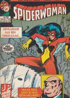 Spiderwoman Nr.12 - Gevaarlijk als een cirkelzaag...