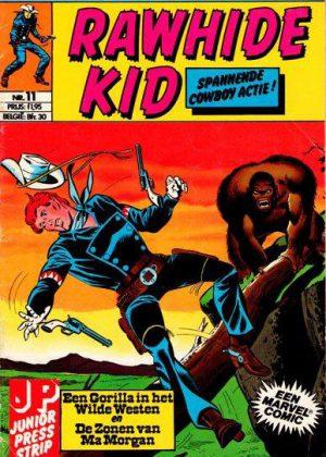 Rawhide Kid nr. 11- Een Gorilla in het Wilde Westen (Junior Press)