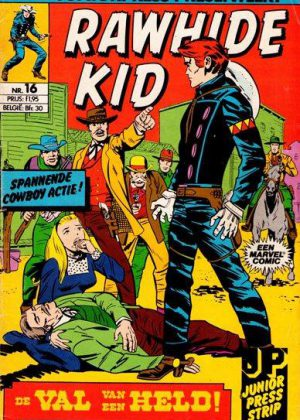 Rawhide Kid nr. 16 - De Val van een Held! (Junior Press)
