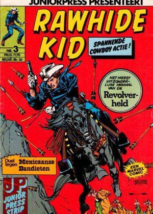 Rawhide Kid nr. 3 - Duel tegen Mexicaanse Bandieten (Junior Press)