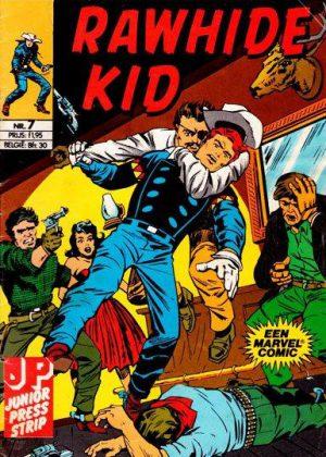 Rawhide Kid nr. 7 - Een Groentje in het Wilde Westen (Junior Press)