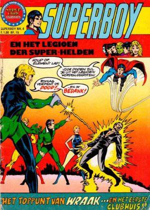 Superboy en het legioen der superhelden Nr4