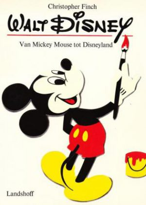 Walt Disney Van mickey mouse tot Disneyland