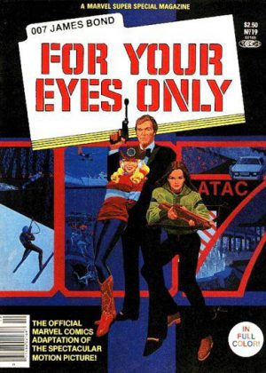 007 James Bond- for your eyes only