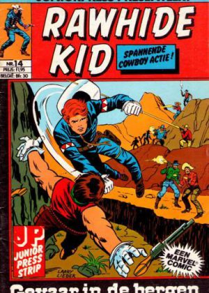 Rawhide Kid nr. 14- Gevaar in de bergen (Junior Press)